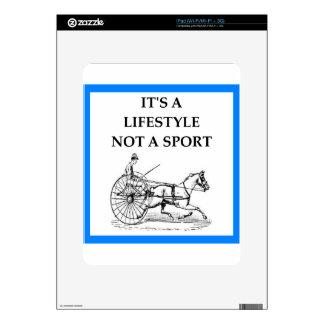 harness racing skins for the iPad
