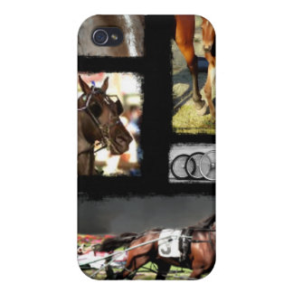 Harness Racing Sport iPhone 4/4S Cases