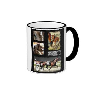 Harness Racing Sport Ringer Coffee Mug