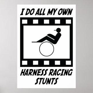 Harness Racing Stunts Posters
