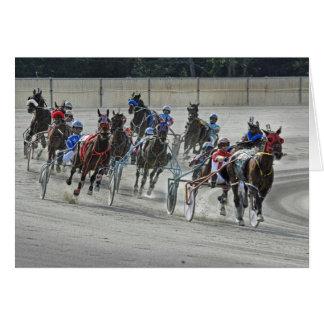 Harness Racing The Last Turn Card