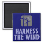 Harness the Wind (3) Magnet