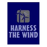 Harness the Wind (3) Postcard