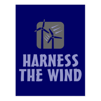 Harness the Wind (3) Postcard