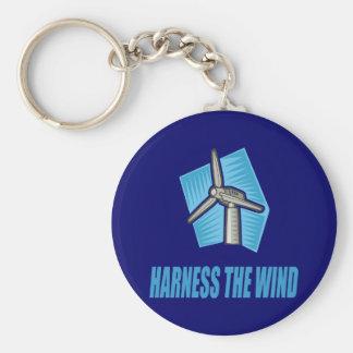 Harness the Wind Key Chain