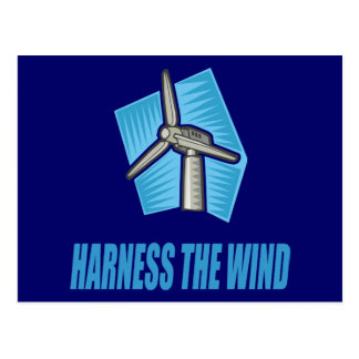 Harness the Wind Postcard