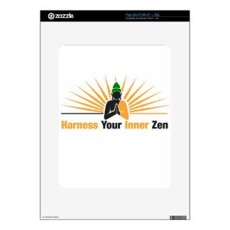 Harness Your Inner Zen Decals For iPad