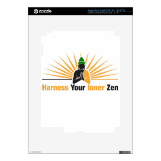 Harness Your Inner Zen Decals For iPad 3