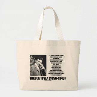 Harnessing A Waterfall Sun's Energy Tesla Quote Tote Bag