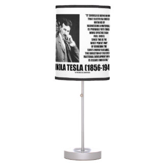Harnessing A Waterfall Sun39s Energy Tesla Quote Desk Lamp