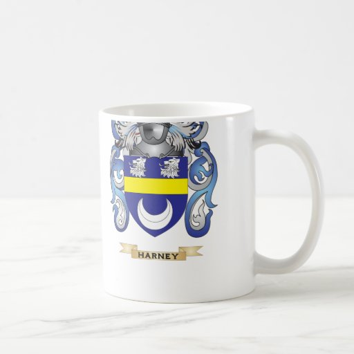 Harney Coat of Arms (Family Crest) Coffee Mug