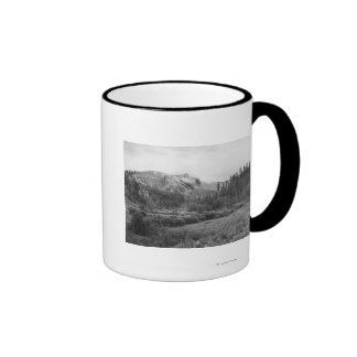Harney's Peak after a Storm Photograph Ringer Coffee Mug