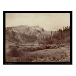 Harney's Peak Just after a Storm SD 1890 Posters