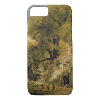 Harnham Gate, Salisbury, c.1820-21 (oil on canvas) iPhone 8/7 Case