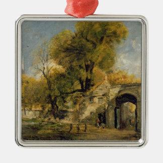 Harnham Gate, Salisbury, c.1820-21 (oil on canvas) Metal Ornament