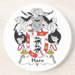 Haro Family Crest Coaster