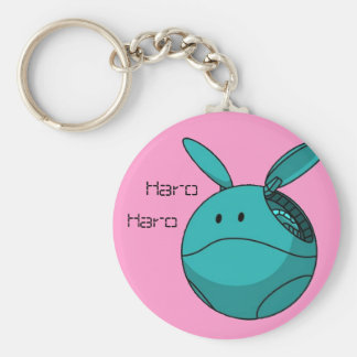 haro haro basic round button keychain