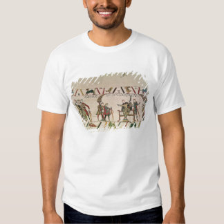 Harold  and Guy are talking together Shirt