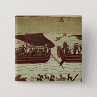 Harold crosses the Channel with sails full of Pinback Button