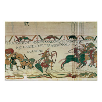 Harold Drags Soldiers from the Quicksand Poster