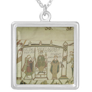 Harold  is offered the crown and the silver plated necklace