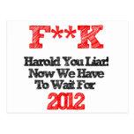 Harold Tarjetas Postales