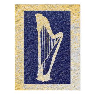 Harp 1 postcard