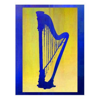 Harp 3 postcard