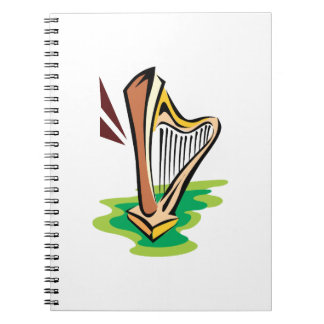 harp abstract with green.png notebook