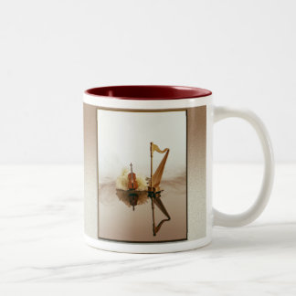 Harp and Cello mug