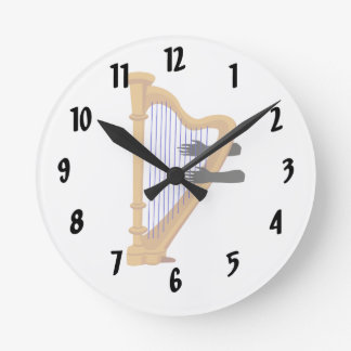 harp and hands graphic.png round clock