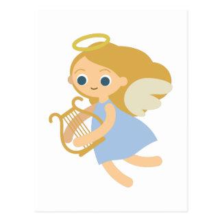 Harp Angel Postcard