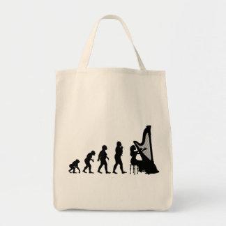 Harp Tote Bags
