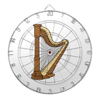 Harp Dart Board