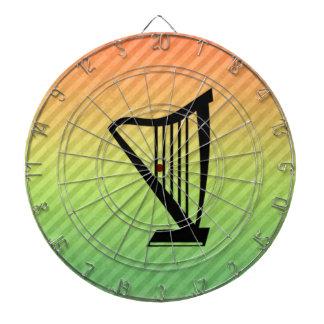 Harp Dartboard With Darts