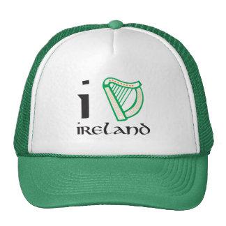 Harp el casquillo de Irlanda Gorra