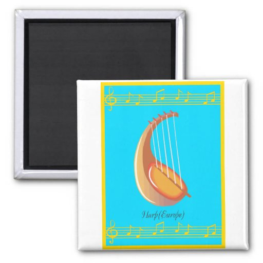 harp europe 2 inch square magnet