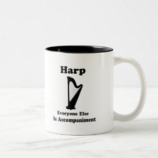 Harp Gift Two-Tone Coffee Mug