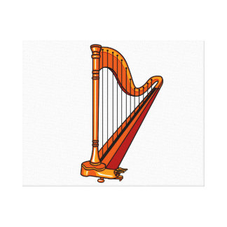 harp graphic pedal.png canvas print