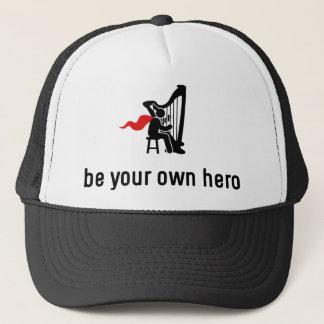 Harp Hero Trucker Hat