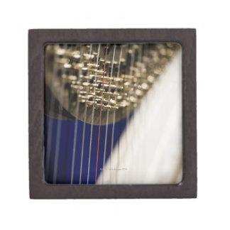 Harp Keepsake Box
