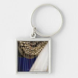 Harp Keychain