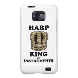 Harp King of Instruments Galaxy SII Cases