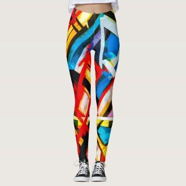 Art Themed Harp Leggings