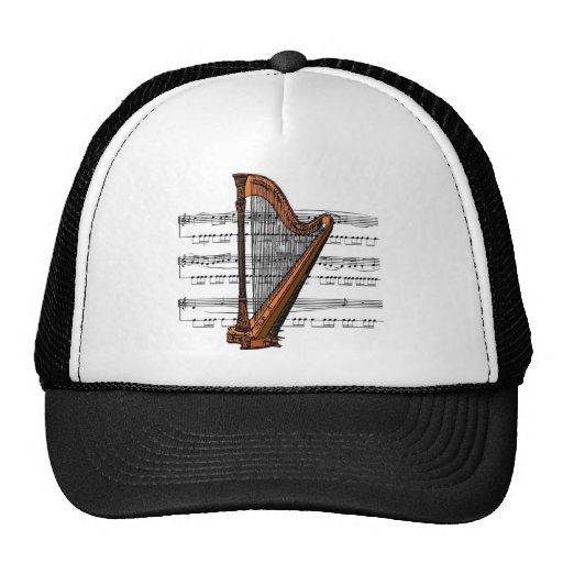 Musical Harp Trucker Hat