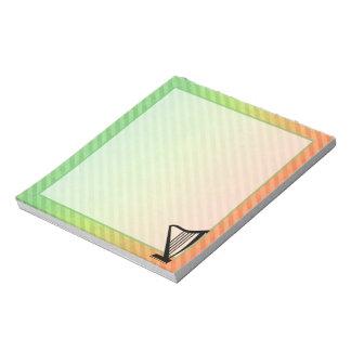 Harp Memo Note Pads