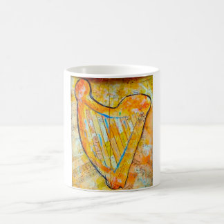 harp of gold coffee mug