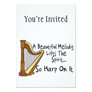 Harp On It Card