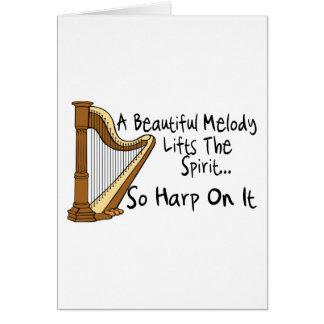 Harp On It Card