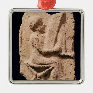 Harp player, 1830-1600 BC Metal Ornament